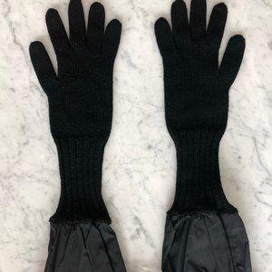 Burberry Prorsum Gloves (Authentic) - Wool, Black
